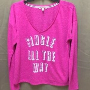 Victoria's Secret Long Sleeve Loungewear Pajamas S